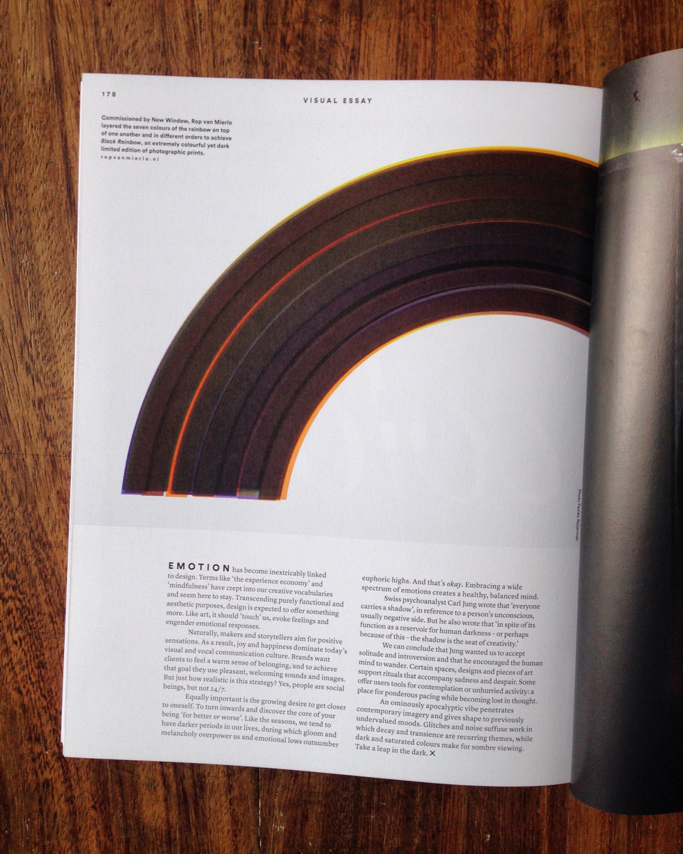 New Window – Black Rainbow in Frame Magazine